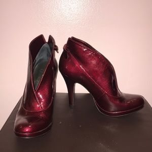 Jessica Simpson Patent Leather Booties
